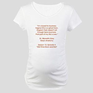 VAGINA CITY Maternity T-Shirt