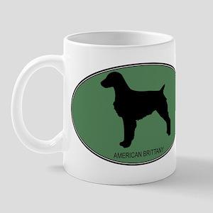 American Brittany (green) Mug