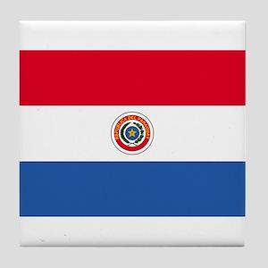 Paraguay Tile Coaster