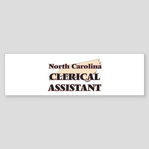 North Carolina Clerical Assistant Bumper Sticker