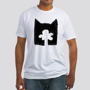 Skyclan BLACK Fitted T-Shirt