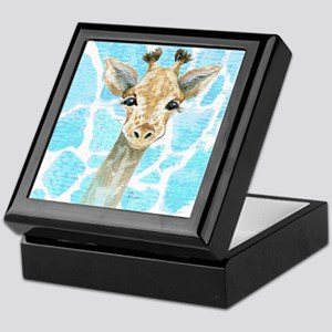Friendly Baby Giraffe Keepsake Box
