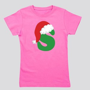 Christmas Letter S Alphabe T-Shirt