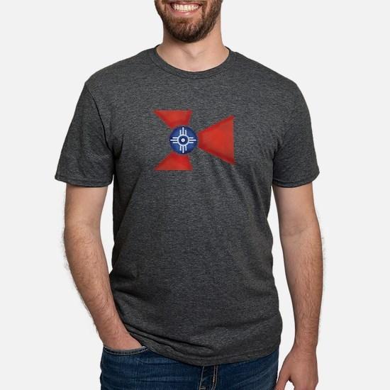 Vintage Wichita Kansas Flag T-Shirt