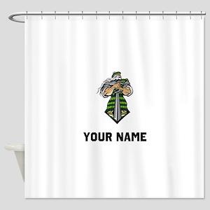 Scottish Warrior Shower Curtain