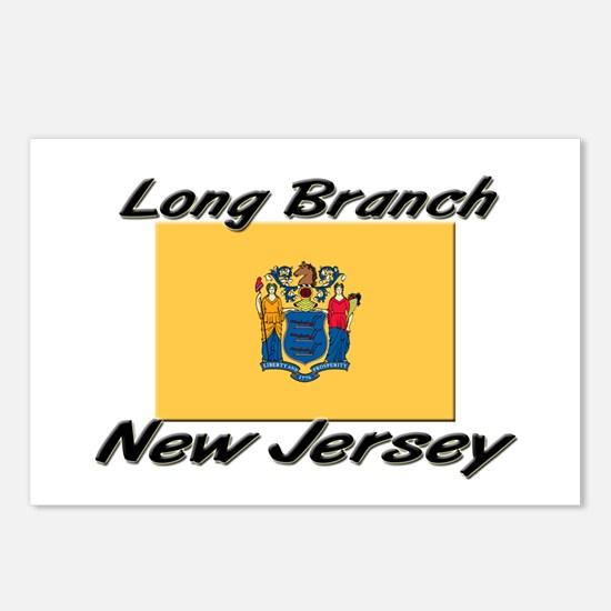 Long Branch New Jersey Postcards (Package of 8)