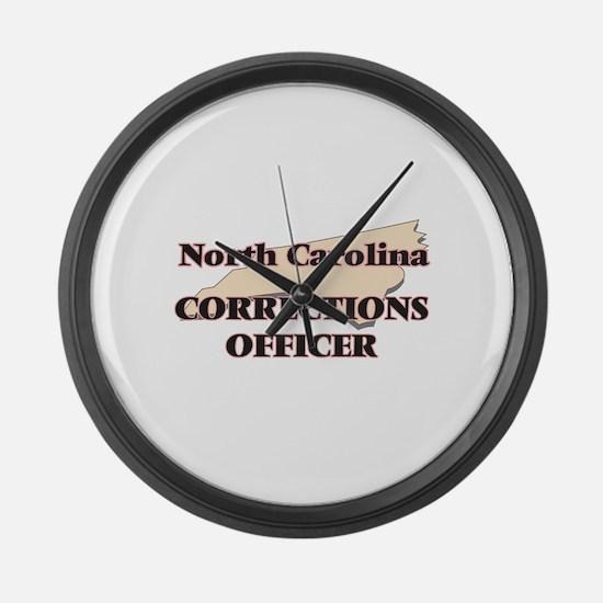 North Carolina Corrections Office Large Wall Clock