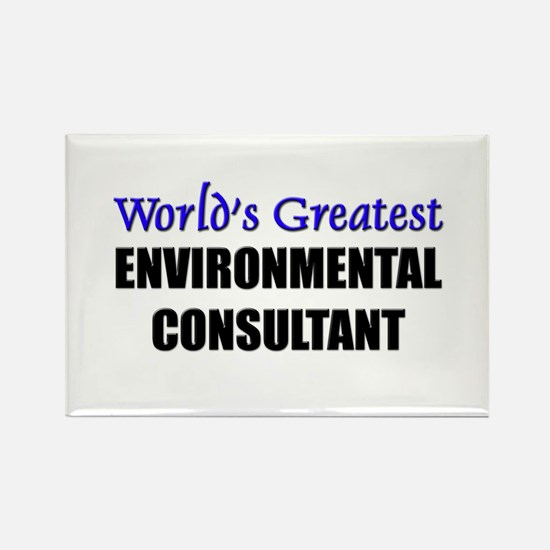 Worlds Greatest ENVIRONMENTAL CONSULTANT Rectangle