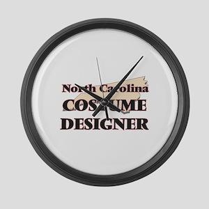 North Carolina Costume Designer Large Wall Clock