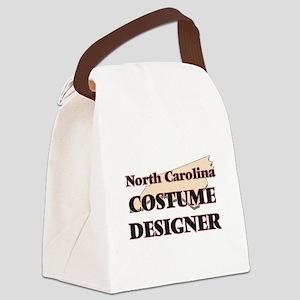 North Carolina Costume Designer Canvas Lunch Bag