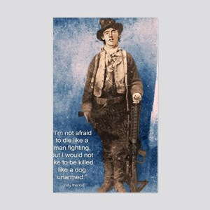 Billy the Kid Quote Sticker (Rectangle)