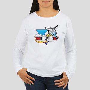Top Gun - Key Art Women's Long Sleeve T-Shirt