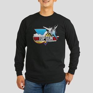 Top Gun - Key Art Long Sleeve Dark T-Shirt