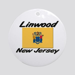 Linwood New Jersey Ornament (Round)