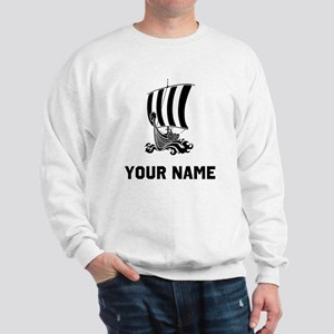 Viking Ship Sweatshirt