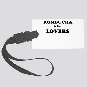 Kombucha is for Lovers Luggage Tag