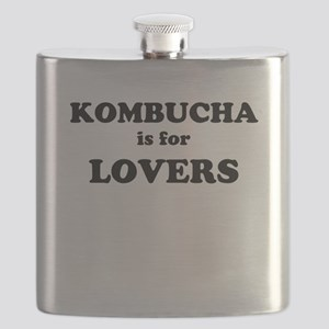 Kombucha is for Lovers Flask
