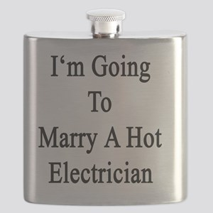 I'm Going To Marry A Hot Electrician  Flask