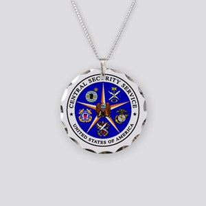 US FEDERAL AGENCY - CIA - CE Necklace Circle Charm