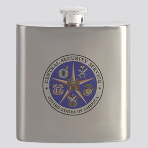 US FEDERAL AGENCY - CIA - CENTRAL SECURITY S Flask
