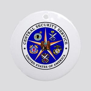 US FEDERAL AGENCY - CIA - CENTRAL S Round Ornament