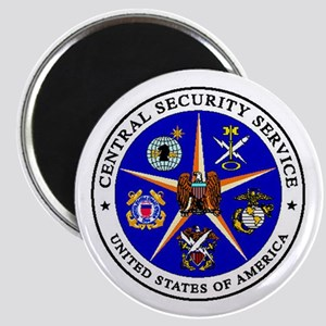 US FEDERAL AGENCY - CIA - CENTRAL SECURITY Magnets