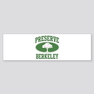 Preserve Berkeley Bumper Sticker