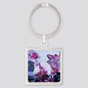 Welness and Inner Balance Square Keychain