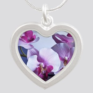 Welness and Inner Balance Silver Heart Necklace