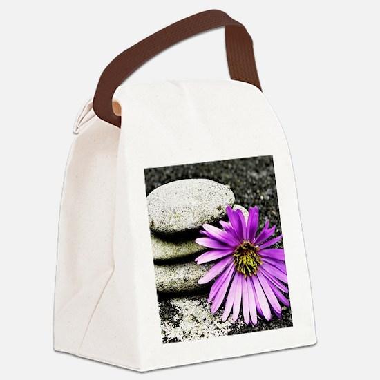Welness and Inner Balance Canvas Lunch Bag