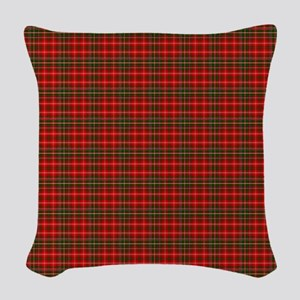 MacDougall Scottish Tartan Woven Throw Pillow