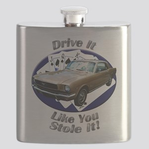 Classic Ford Mustang Flask
