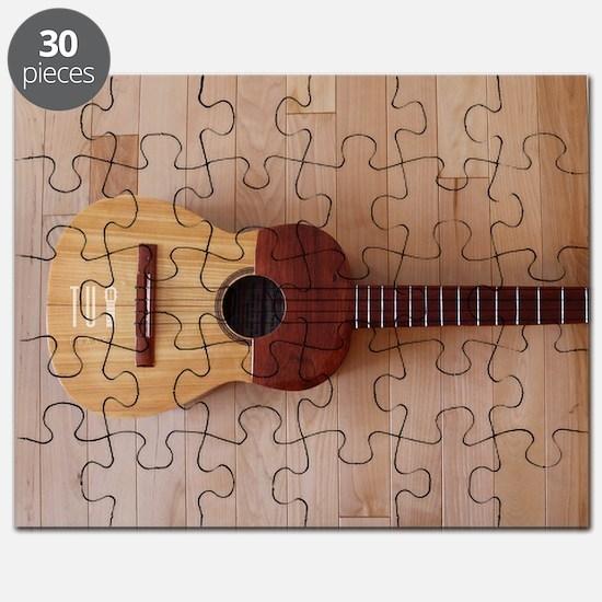 Venezuelan Cuatro (Full Color Big) Puzzle