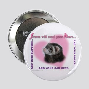 Ferret Thief Button