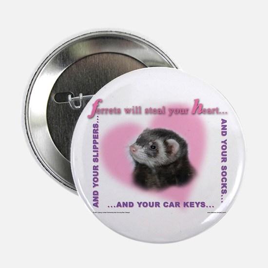 Ferret Thief Button