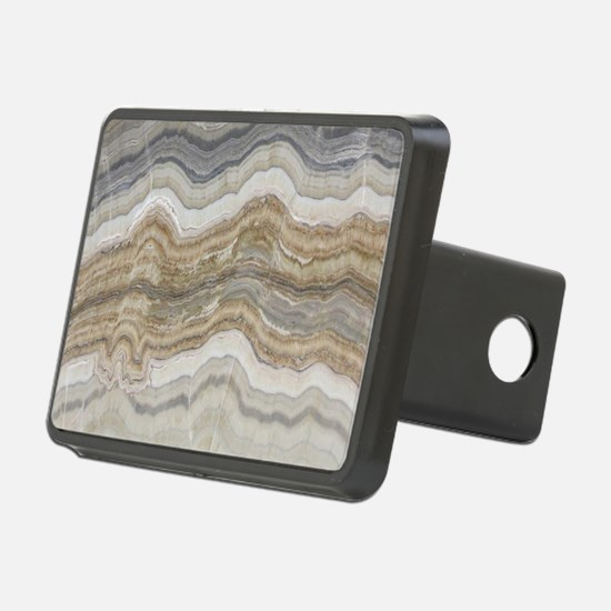 abstract chic white marble Hitch Cover