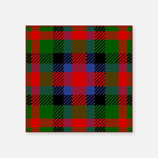 MacDuff Scottish Tartan Sticker