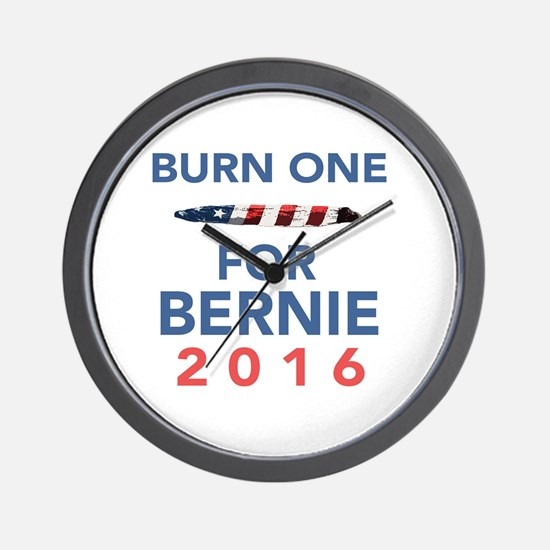 Burn 4 Bern Wall Clock