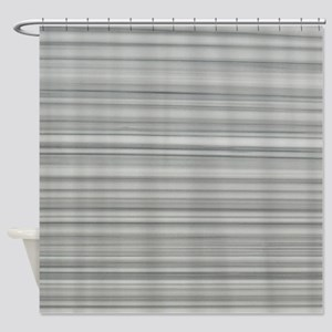 abstract grey marble lines Shower Curtain