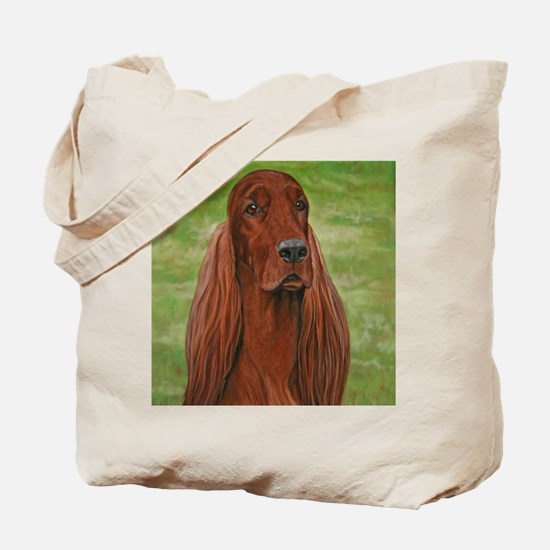 Irish Setter Head Study 3 Tote Bag