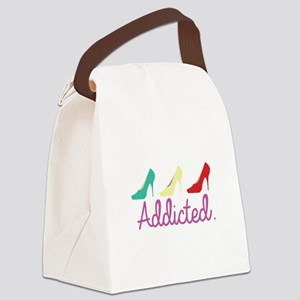 Addicted Canvas Lunch Bag