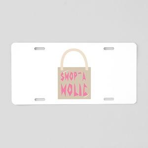 Shop-A Holic Aluminum License Plate