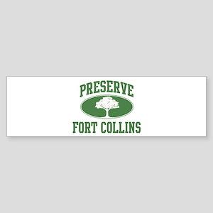 Preserve Fort Collins Bumper Sticker