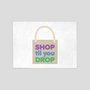 Shop Til Drop 5'x7'Area Rug