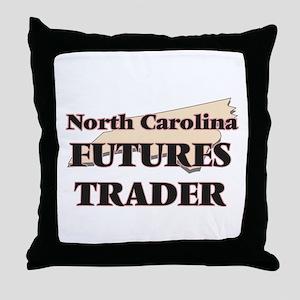 North Carolina Futures Trader Throw Pillow