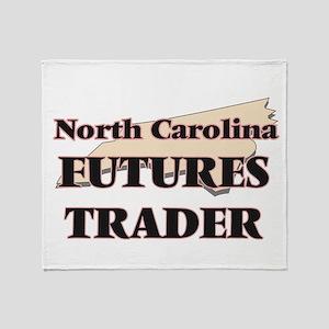 North Carolina Futures Trader Throw Blanket