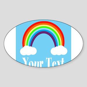 Personalizable Rainbow Sticker
