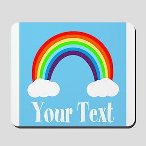 Personalizable Rainbow Mousepad