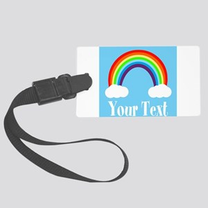 Personalizable Rainbow Luggage Tag