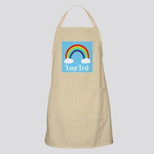 Personalizable Rainbow Apron